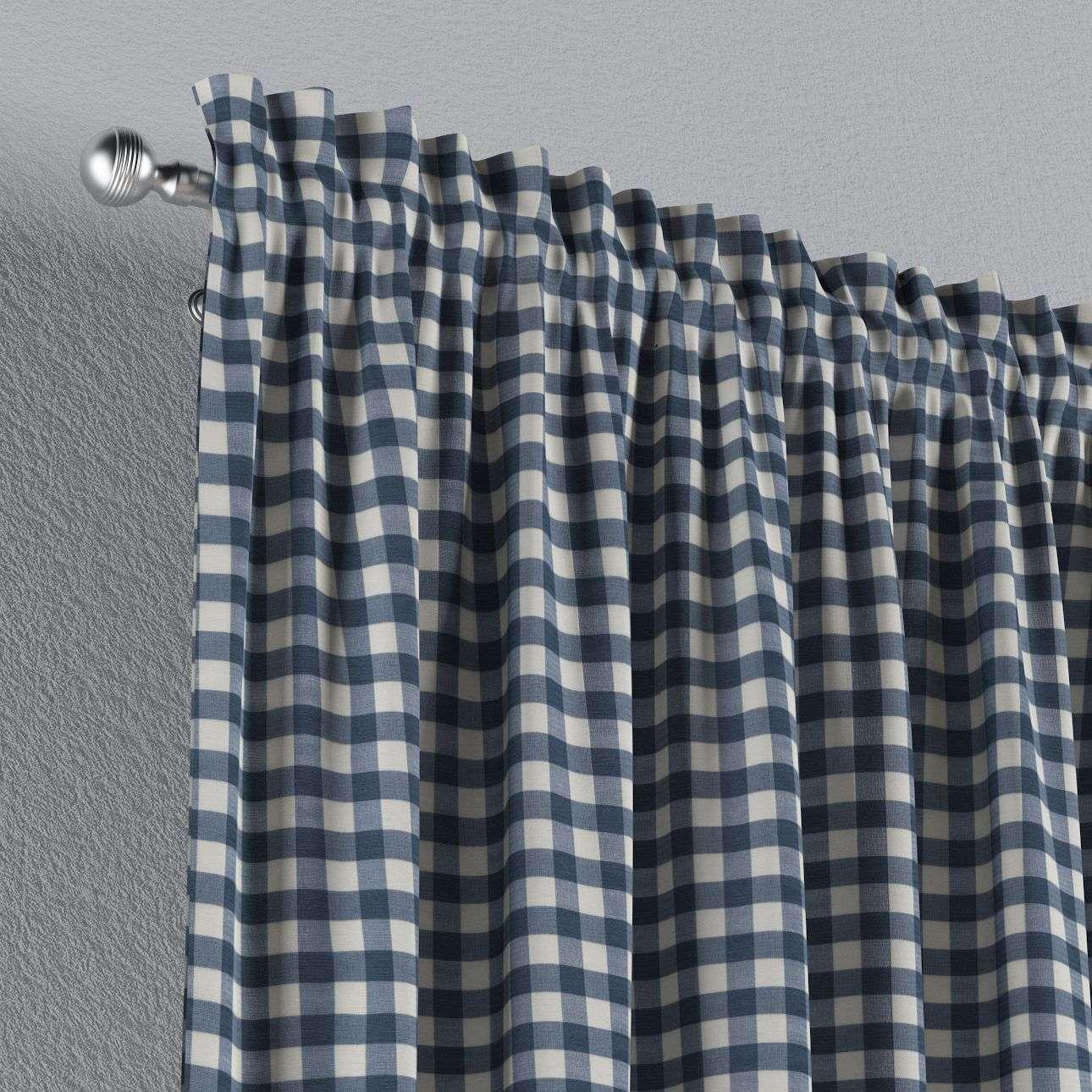 Záves s navliekacou riasiacou páskou V kolekcii Quadro, tkanina: 136-01
