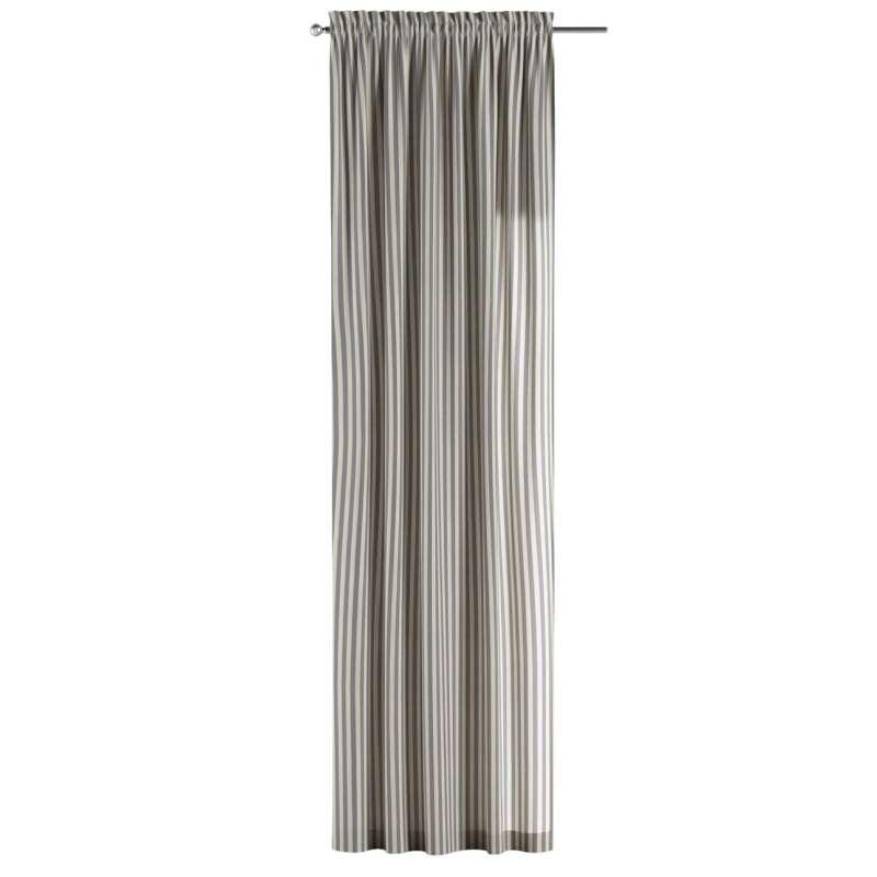 Záves s navliekacou riasiacou páskou V kolekcii Quadro, tkanina: 136-02