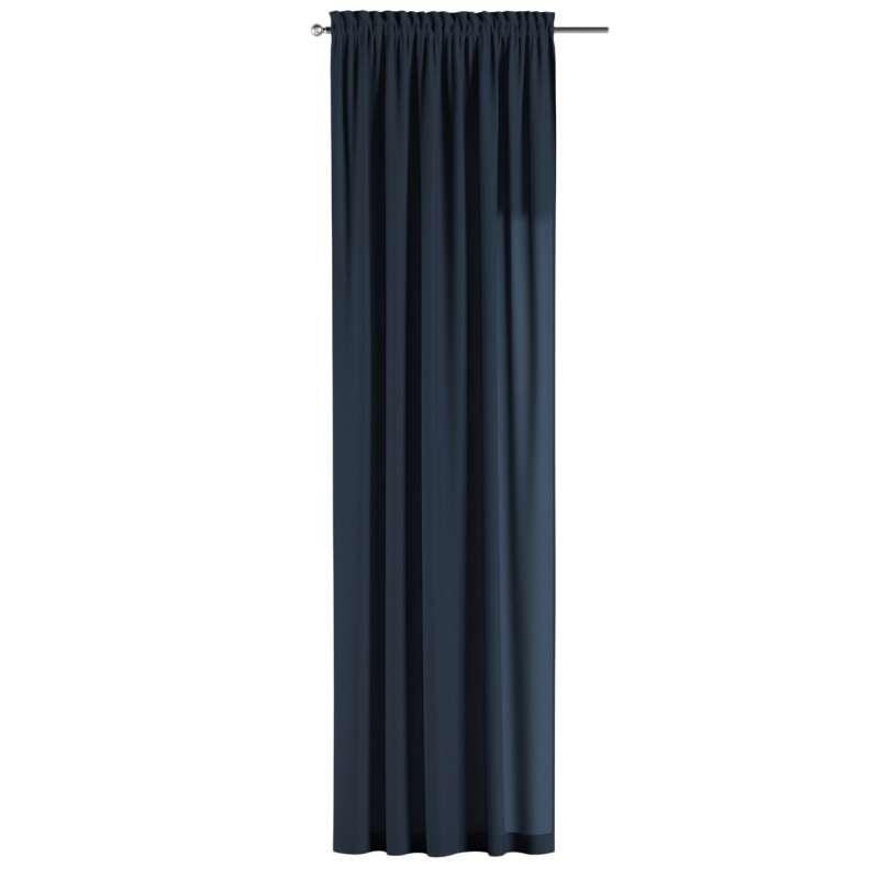 Záves s navliekacou riasiacou páskou V kolekcii Quadro, tkanina: 136-04