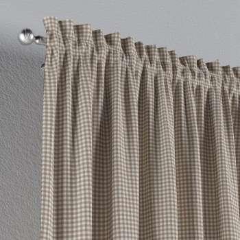 Bujtatós függöny rüssel a kollekcióból Quadro Lakástextil, Dekoranyag: 136-05