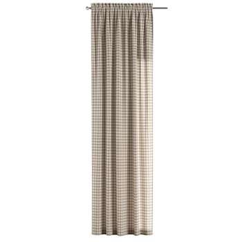 Gardin med løpegang - multibånd 1 stk. 130 × 260 cm fra kolleksjonen Quadro, Stoffets bredde: 136-06