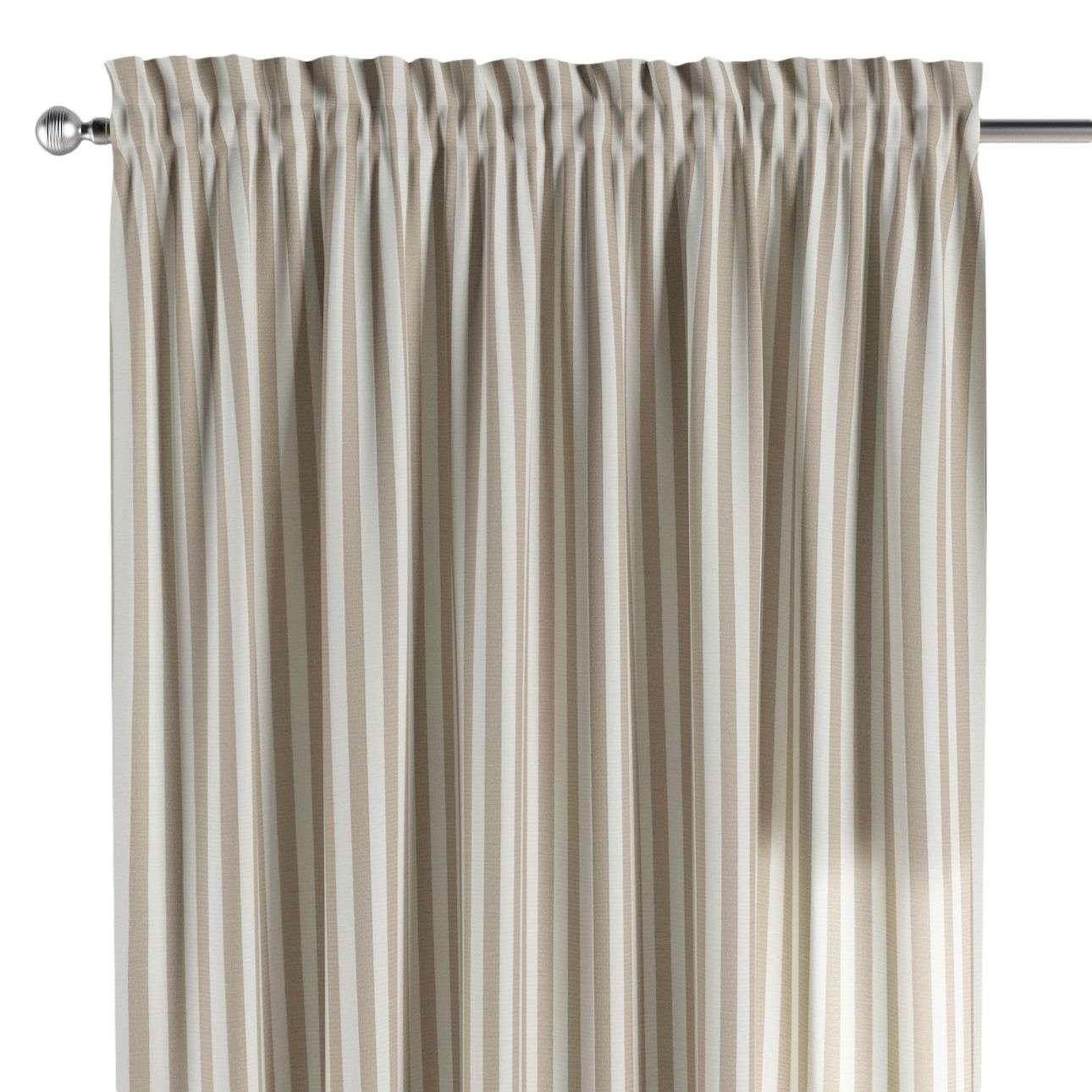 Bujtatós függöny rüssel a kollekcióból Quadro Lakástextil, Dekoranyag: 136-07