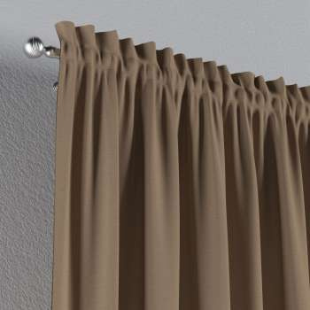Vorhang mit Tunnel und Köpfchen von der Kollektion Quadro, Stoff: 136-09