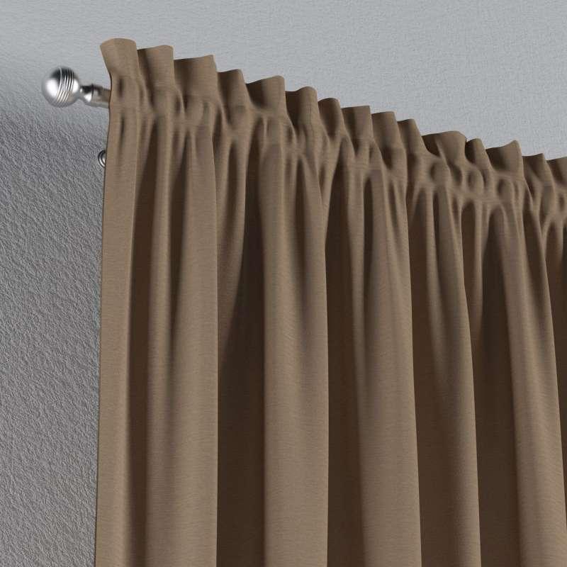 Záves s navliekacou riasiacou páskou V kolekcii Quadro, tkanina: 136-09