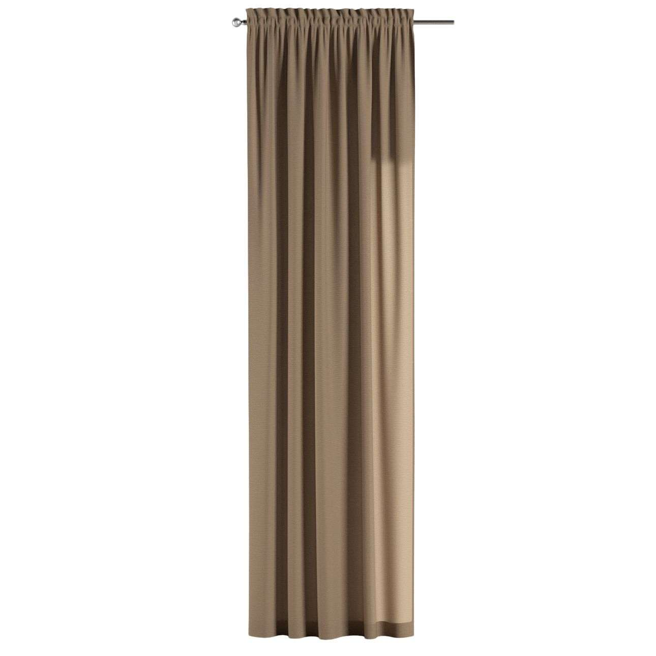 Slot and frill curtains in collection Quadro, fabric: 136-09