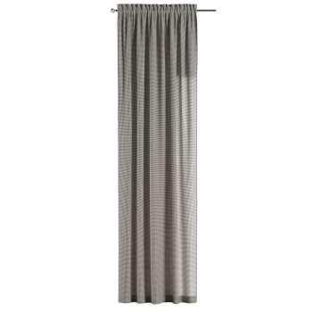 Gardin med løpegang - multibånd 1 stk. 130 × 260 cm fra kolleksjonen Quadro, Stoffets bredde: 136-10