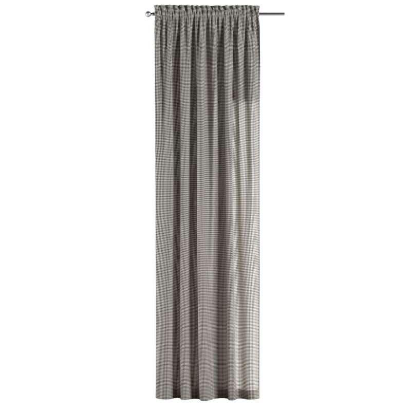 Záves s navliekacou riasiacou páskou V kolekcii Quadro, tkanina: 136-10