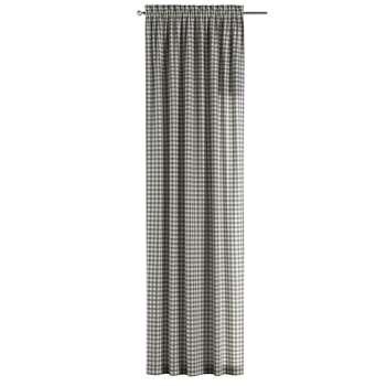 Gardin med løpegang - multibånd 1 stk. 130 × 260 cm fra kolleksjonen Quadro, Stoffets bredde: 136-11