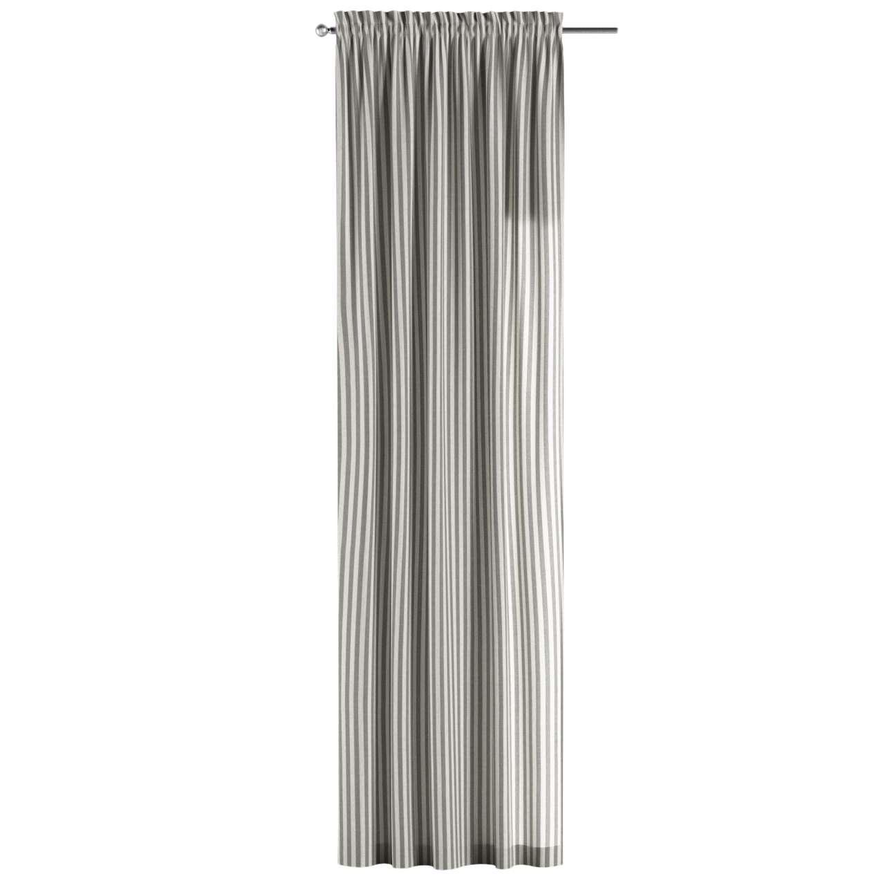 Záves s navliekacou riasiacou páskou V kolekcii Quadro, tkanina: 136-12