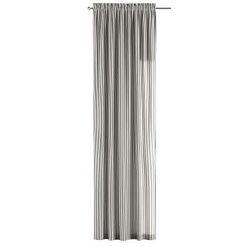 Gardin med løpegang - multibånd 1 stk. 130 × 260 cm fra kolleksjonen Quadro, Stoffets bredde: 136-12