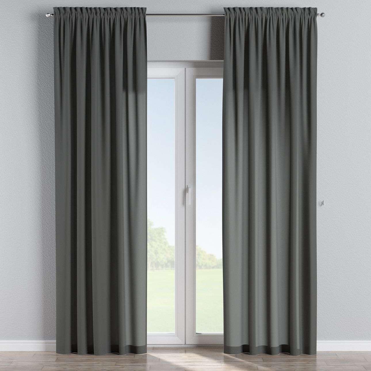 Bujtatós függöny rüssel a kollekcióból Quadro Lakástextil, Dekoranyag: 136-14