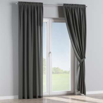 Slot and frill curtains 130 x 260 cm (51 x 102 inch) in collection Quadro, fabric: 136-14