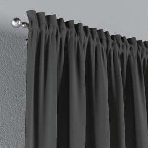 Zasłona na kanale z grzywką 1 szt. 1szt 130x260 cm w kolekcji Quadro, tkanina: 136-14