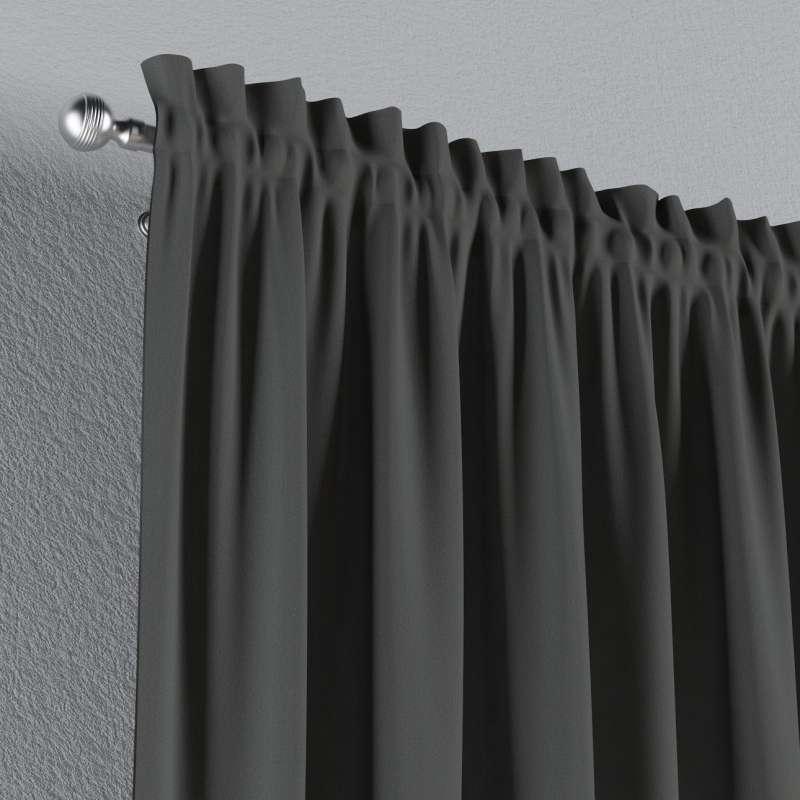 Záves s navliekacou riasiacou páskou V kolekcii Quadro, tkanina: 136-14