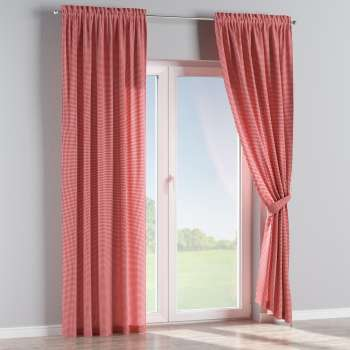 Slot and frill curtains in collection Quadro, fabric: 136-15
