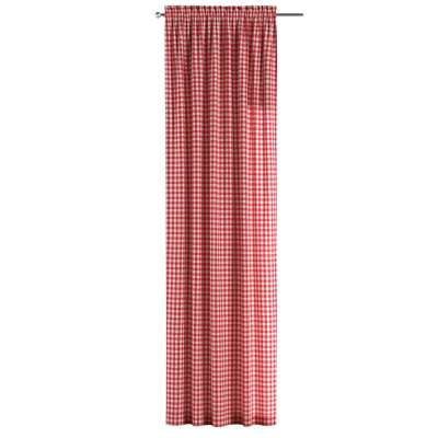 Záves s navliekacou riasiacou páskou V kolekcii Quadro, tkanina: 136-16