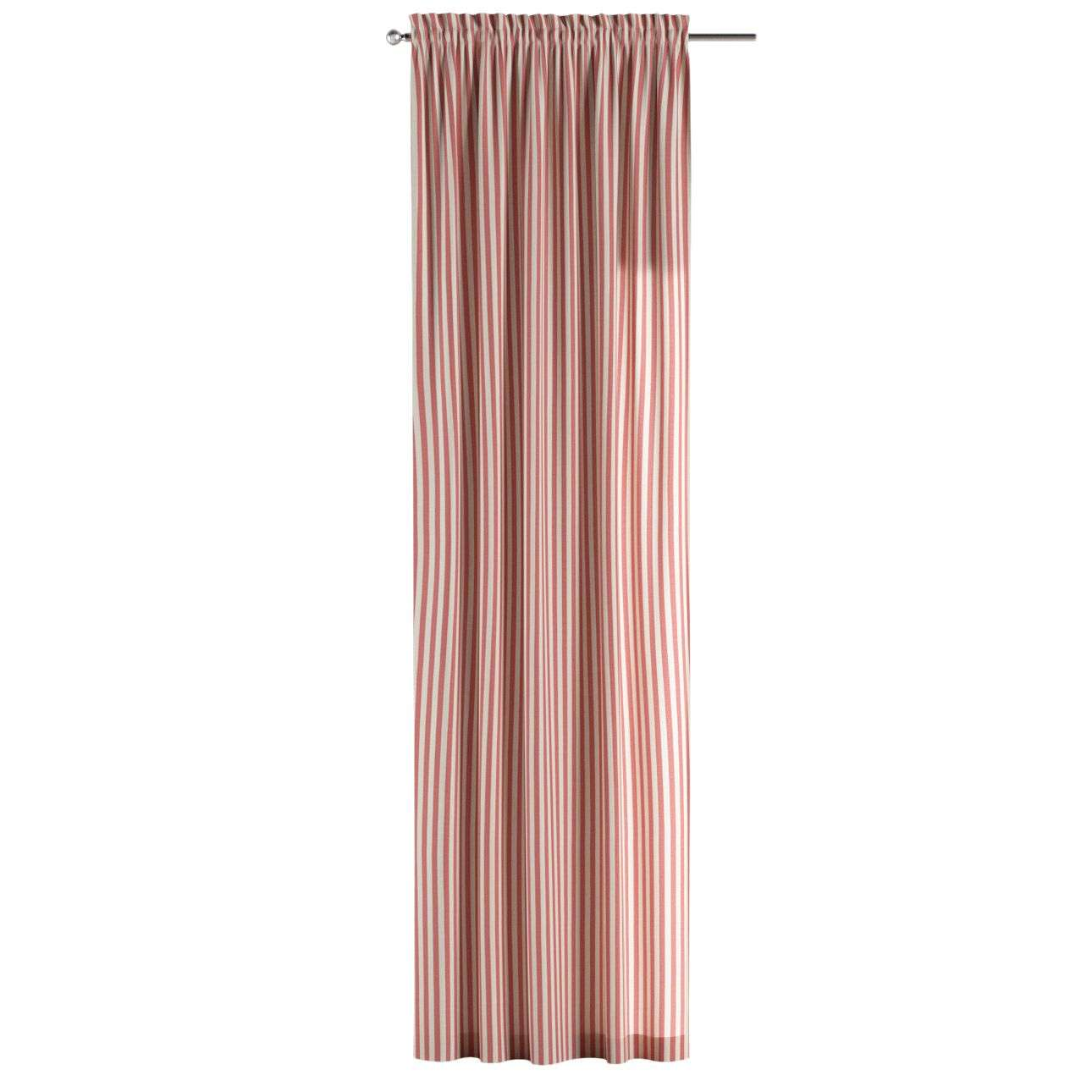 Slot and frill curtains 130 x 260 cm (51 x 102 inch) in collection Quadro, fabric: 136-17