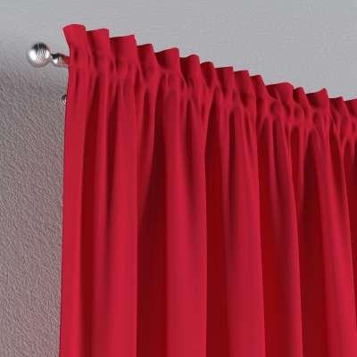 Vorhang mit Tunnel und Köpfchen von der Kollektion Quadro, Stoff: 136-19