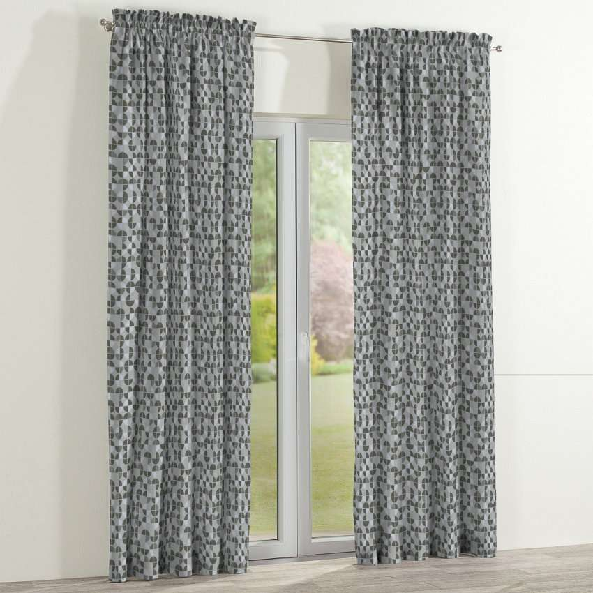 Slot and frill curtains 130 x 260 cm (51 x 102 inch) in collection SALE, fabric: 138-20