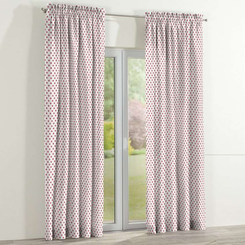 Slot and frill curtains in collection Ashley, fabric: 137-70