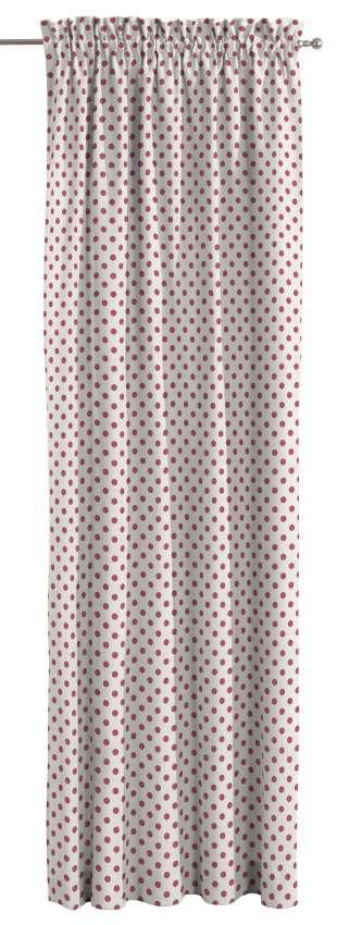 Zasłona na kanale z grzywką 1 szt. 1szt 130x260 cm w kolekcji Ashley, tkanina: 137-70