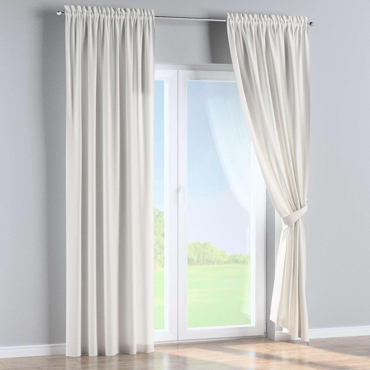 Záves s navliekacou riasiacou páskou 130 x 260 cm V kolekcii Cotton Panama, tkanina: 702-34