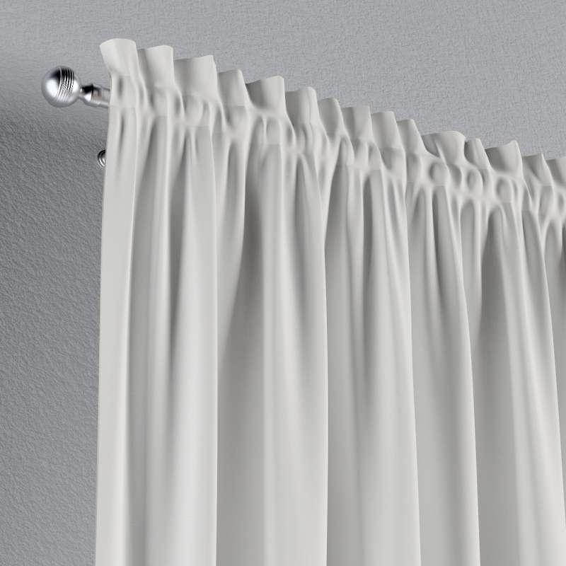 Verho nauhakujalla mallistosta Cotton Panama, Kangas: 702-34