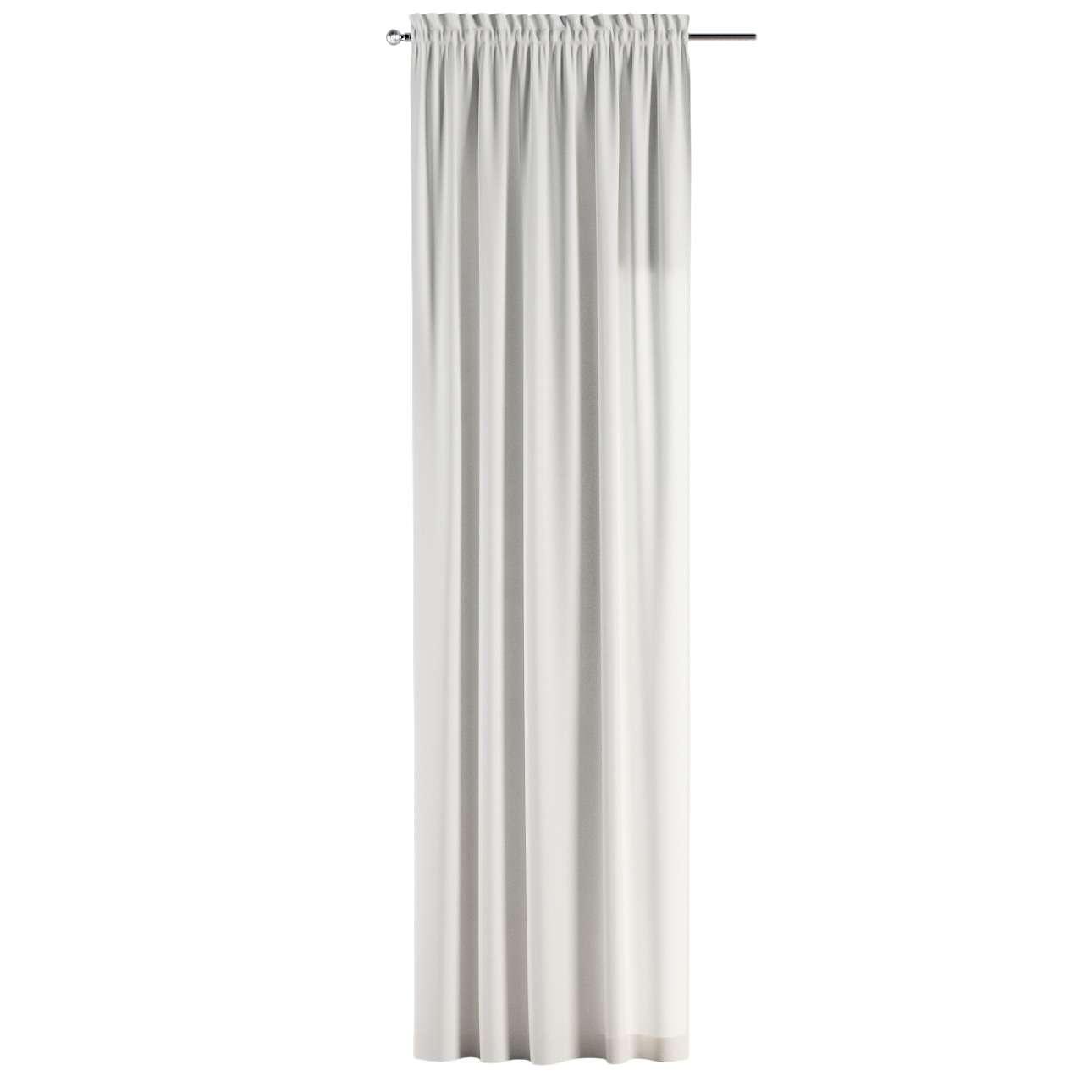 Su paaukštintu viršumi užuolaidos 130 x 260 cm kolekcijoje Cotton Panama, audinys: 702-34
