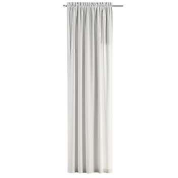 Zasłona na kanale z grzywką 1 szt. 1szt 130x260 cm w kolekcji Cotton Panama, tkanina: 702-34