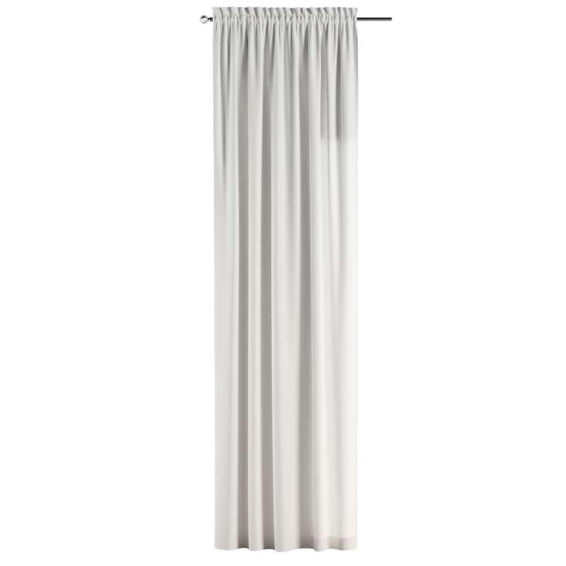 Záves s navliekacou riasiacou páskou V kolekcii Cotton Panama, tkanina: 702-34