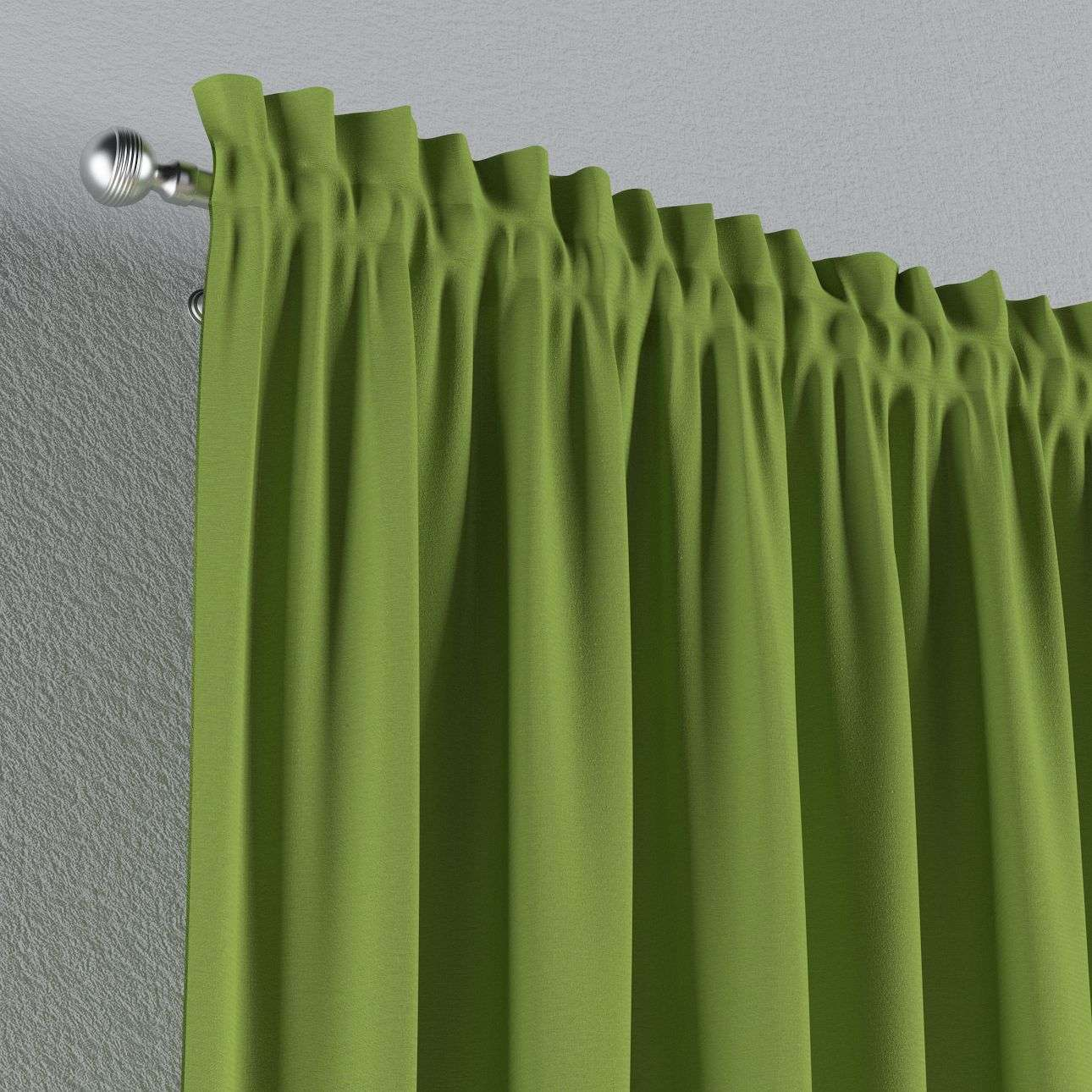 Slot and frill curtains in collection Quadro, fabric: 136-37