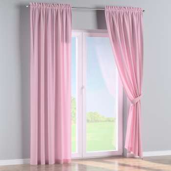 Slot and frill curtains 130 x 260 cm (51 x 102 inch) in collection Loneta , fabric: 133-36