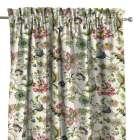 Zasłona na kanale z grzywką 1 szt. 1szt 130x260 cm w kolekcji Londres, tkanina: 122-00