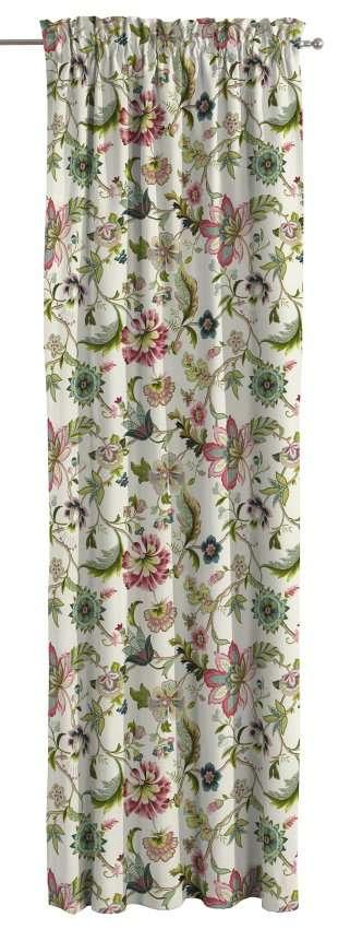 Záves s navliekacou riasiacou páskou V kolekcii Londres, tkanina: 122-00