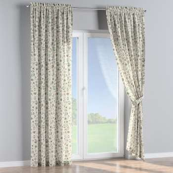 Slot and frill curtains 130 x 260 cm (51 x 102 inch) in collection Londres, fabric: 122-02