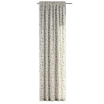 Gardin med kanal 1 längd 130 x 260 cm i kollektionen Londres, Tyg: 122-02