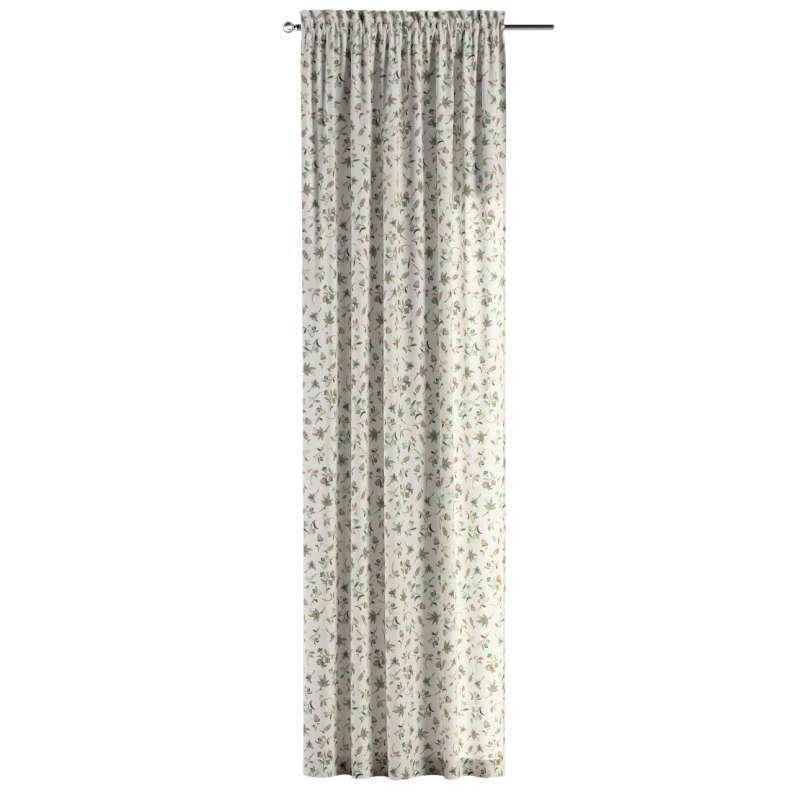Záves s navliekacou riasiacou páskou V kolekcii Londres, tkanina: 122-02