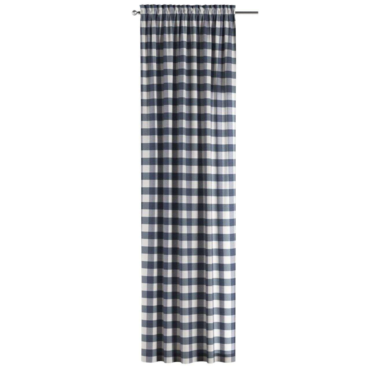 Záves s navliekacou riasiacou páskou V kolekcii Quadro, tkanina: 136-03