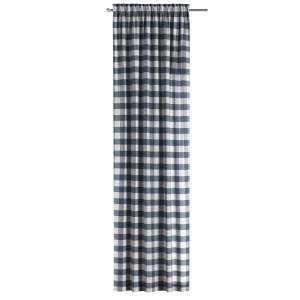 Zasłona na kanale z grzywką 1 szt. 1szt 130x260 cm w kolekcji Quadro, tkanina: 136-03