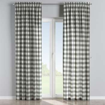 Slot and frill curtains in collection Quadro, fabric: 136-13