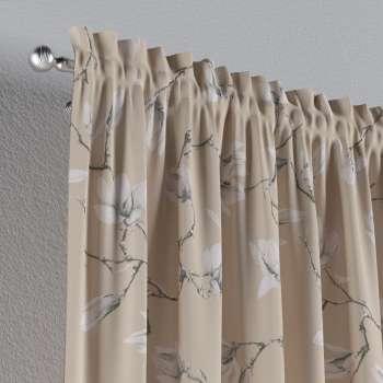 Záves s navliekacou riasiacou páskou 130 x 260 cm V kolekcii Flowers, tkanina: 311-12