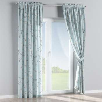 Slot and frill curtains in collection Flowers, fabric: 311-14