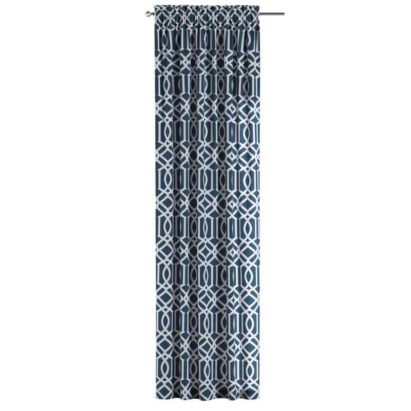 Záves s navliekacou riasiacou páskou V kolekcii Comics, tkanina: 135-10