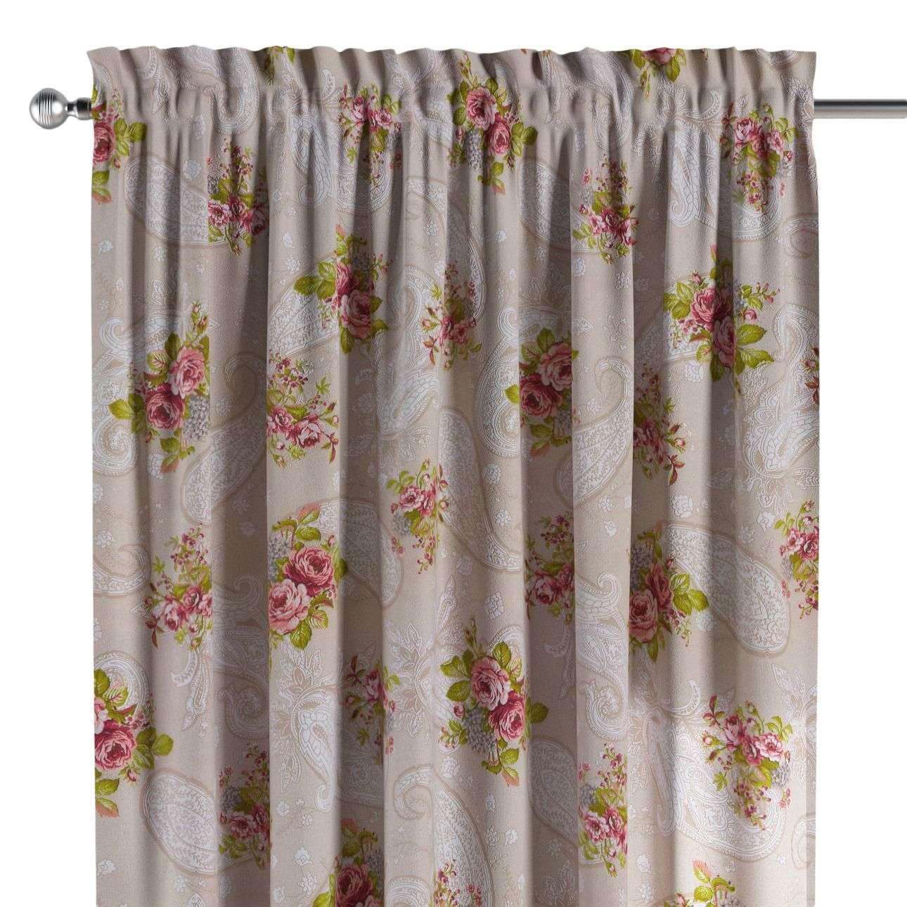 Bujtatós függöny rüssel a kollekcióból Flowers Lakástextil, Dekoranyag: 311-15