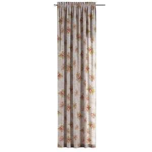 Závěs na tunýlku s volánkem 130 x 260 cm v kolekci Flowers, látka: 311-15