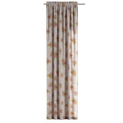 Zasłona na kanale z grzywką 1 szt. w kolekcji do -50%, tkanina: 311-15