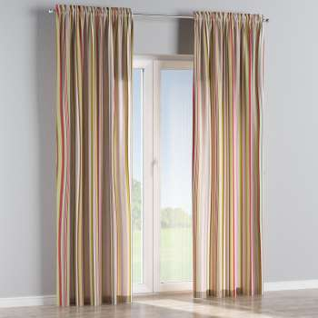 Slot and frill curtains 130 × 260 cm (51 × 102 inch) in collection Flowers, fabric: 311-16