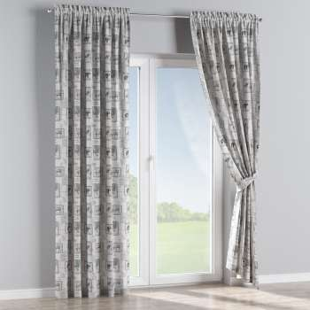 Slot and frill curtains 130 x 260 cm (51 x 102 inch) in collection SALE, fabric: 630-18