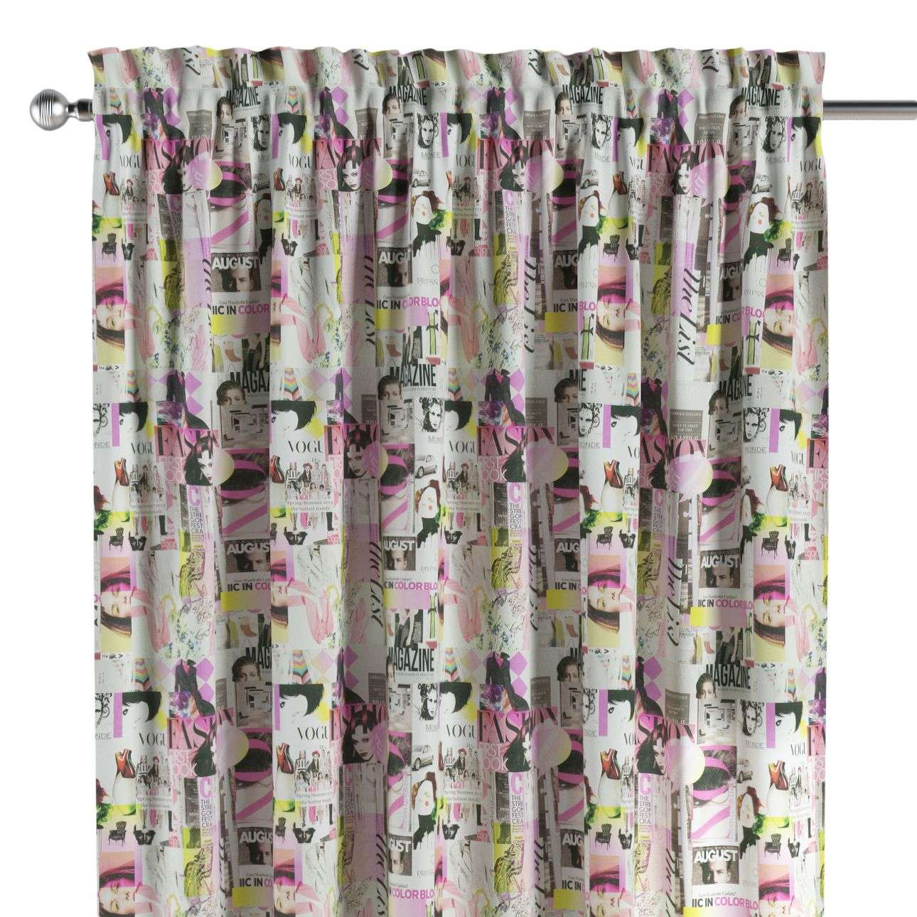 Slot and frill curtains in collection Freestyle, fabric: 135-15