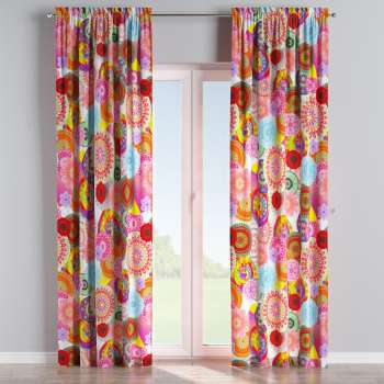 Slot and frill curtains 130 x 260 cm (51 x 102 inch) in collection Comics/Geometrical, fabric: 135-22